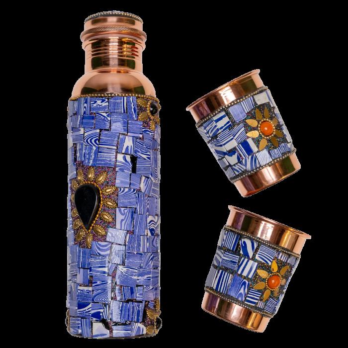 Set din cupru Lapis Lazuli [5]