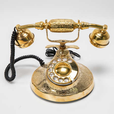 "Telefon vintage din alama ''Bronze"" [0]"