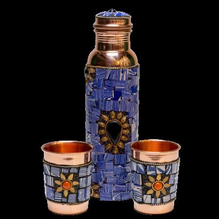 Set din cupru Lapis Lazuli [1]