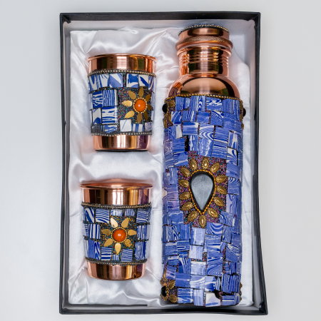 Set din cupru Lapis Lazuli [3]