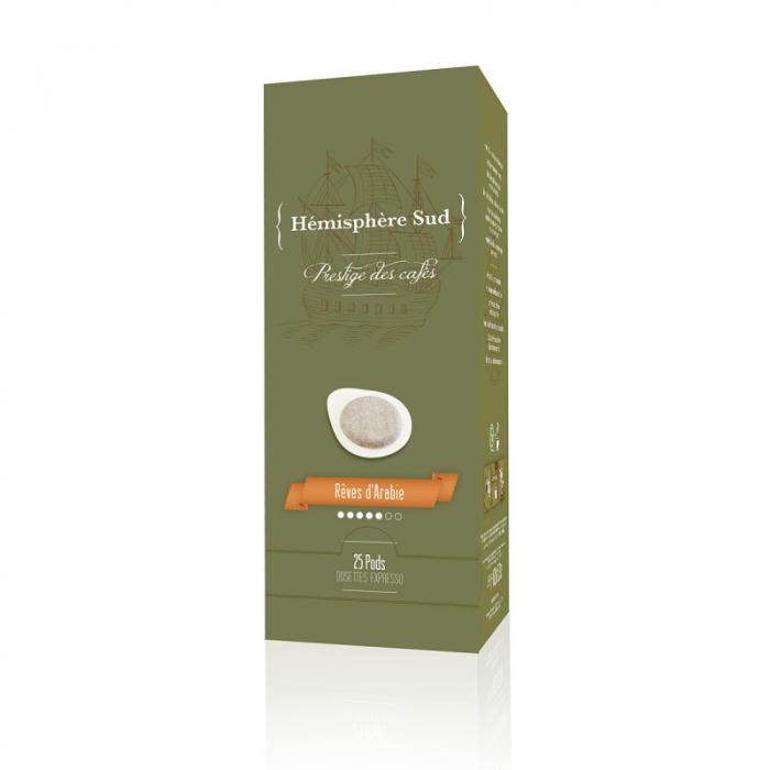 Hemisphere Sud Reve d'Arabie Cafea Monodoze ESE 25 buc 0