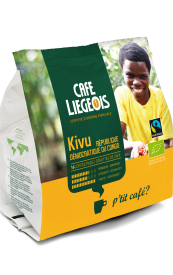 Kivu Congo BIO Cafea Pad 18 buc [0]