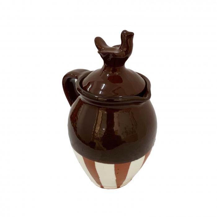 cana-din-ceramica-de-arges-realizata-manual-argcoms-vin-capac-cu-acvila-pictura-traditionala-fond-maro-6023-6028 2