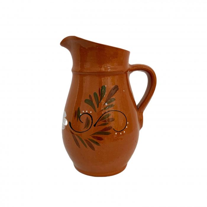 carafa-din-ceramica-de-arges-realizata-manual-argcoms-vin-apa-pictura-florala-6044-6047 [0]