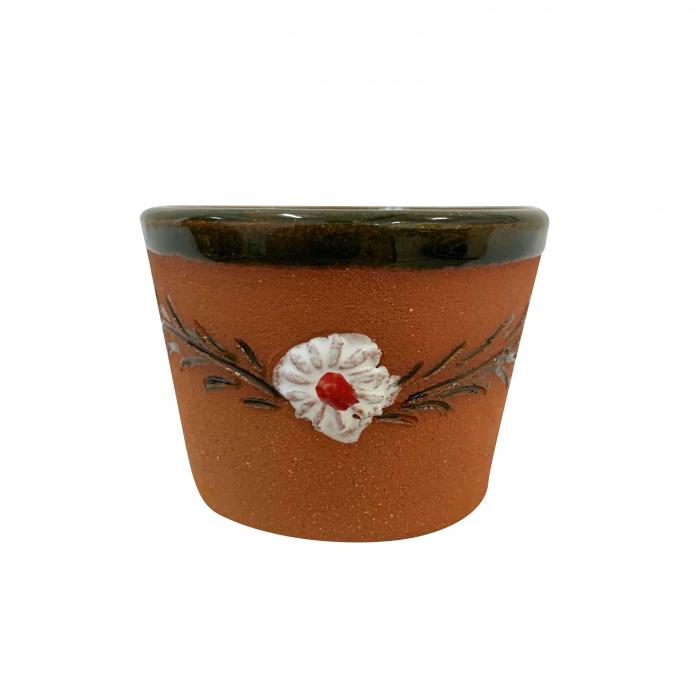 ceasca-din-ceramica-de-arges-realizata-manual-argcoms-tuica-pictura-cu-flori-de-maces-5992-5995 3