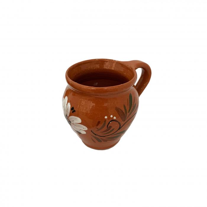 ceasca-din-ceramica-de-arges-realizata-manual-argcoms-vin-pictura-florala-6048-6050 2