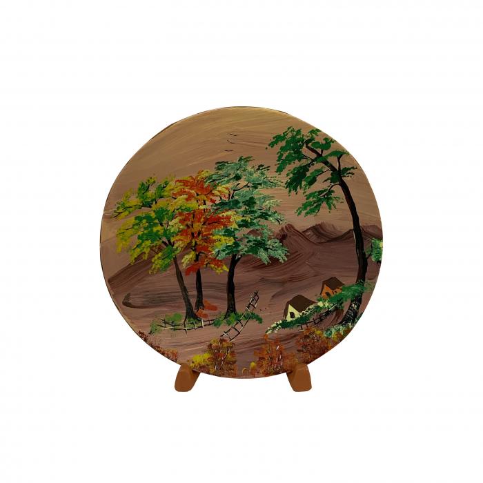 farfurie-decorativa-din-ceramica-de-arges-realizata-manual-argcoms-pictura-cu-peisaj-5-5447 0