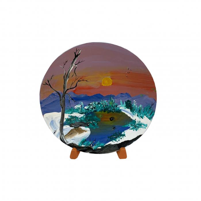 farfurie-decorativa-din-ceramica-de-arges-realizata-manual-argcoms-pictura-cu-peisaj-7-5450 0