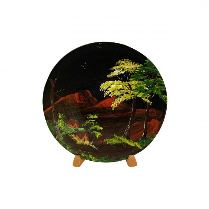 farfurie-decorativa-din-ceramica-de-arges-realizata-manual-argcoms-pictura-cu-peisaj-8-5451 0