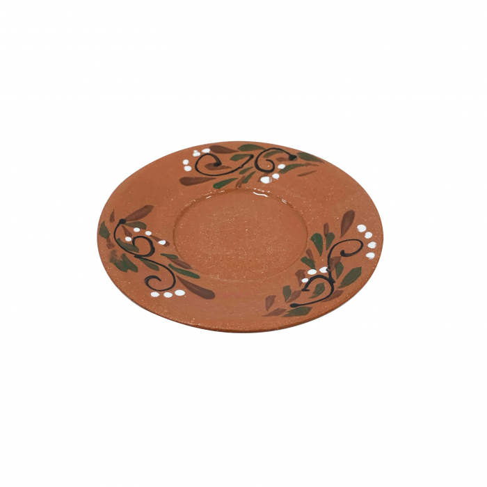 farfurie-din-ceramica-de-arges-realizata-manual-argcoms-ceasca-de-cafea-pictura-florala-5969-5971 0