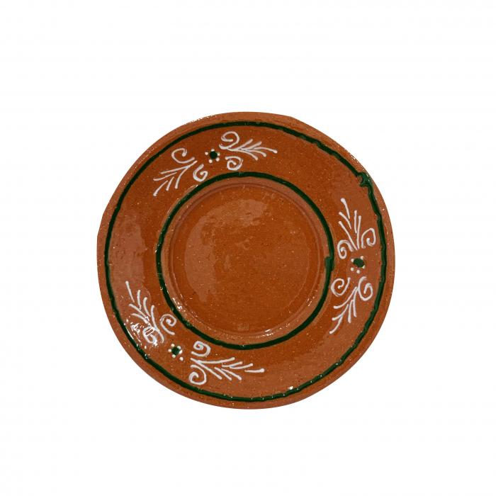 farfurie-din-ceramica-de-arges-realizata-manual-argcoms-ceasca-de-cafea-pictura-traditionala-5967-5968 1