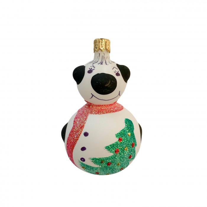 figurina-din-sticla-suflata-si-pictata-manual-argcoms-fabrica-lui-mos-craciun-ursulet-multicolor-fond-alb-6699 0