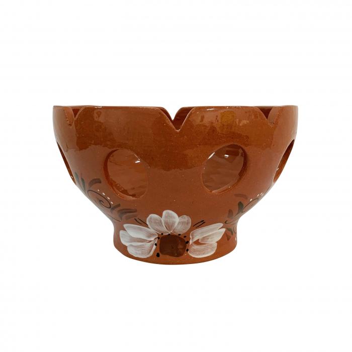 fructiera-din-ceramica-de-arges-realizata-manual-argcoms-traforata-pictura-florala-5923-5924 0