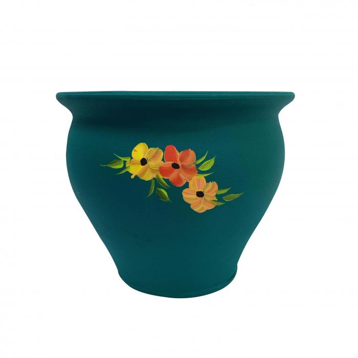 ghiveci-din-ceramica-de-arges-realizat-manual-argcoms-pictura-florala-ø20-cm-5615-5621 0