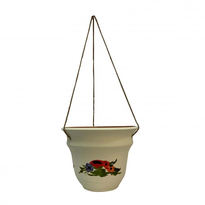 ghiveci-din-ceramica-de-arges-realizat-manual-argcoms-suspendat-pictura-florala-ø24-cm-crem-5689 0
