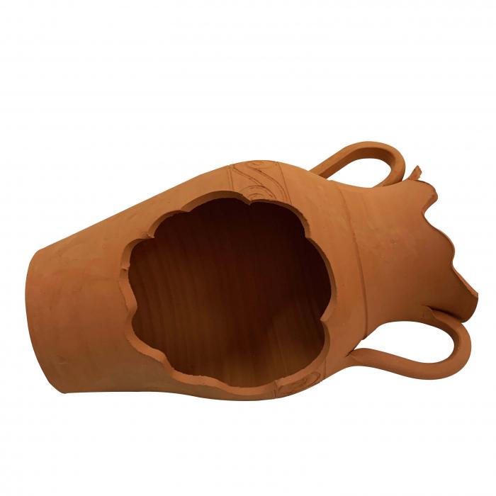 ghiveci-din-ceramica-de-arges-realizat-manual-argcoms-vas-de-iarba-1-ø17-cm-natur-5642-5643 0