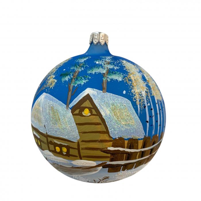 glob-din-sticla-suflata-si-pictata-manual-argcoms-fabrica-lui-mos-craciun-asezare-rustica-multicolor-fond-albastru-100-mm-sferic-6620-6622 [0]