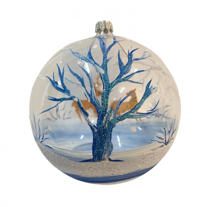 glob-din-sticla-suflata-si-pictata-manual-argcoms-fabrica-lui-mos-craciun-cerb-multicolor-fond-transparent-120-mm-sferic-6593-6594 1