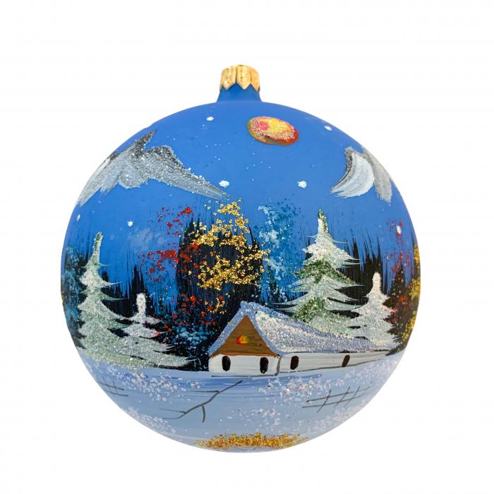 glob-din-sticla-suflata-si-pictata-manual-argcoms-fabrica-lui-mos-craciun-peisaj-de-iarna-multicolor-fond-albastru-rosu-120-mm-sferic-6569-6572 [0]