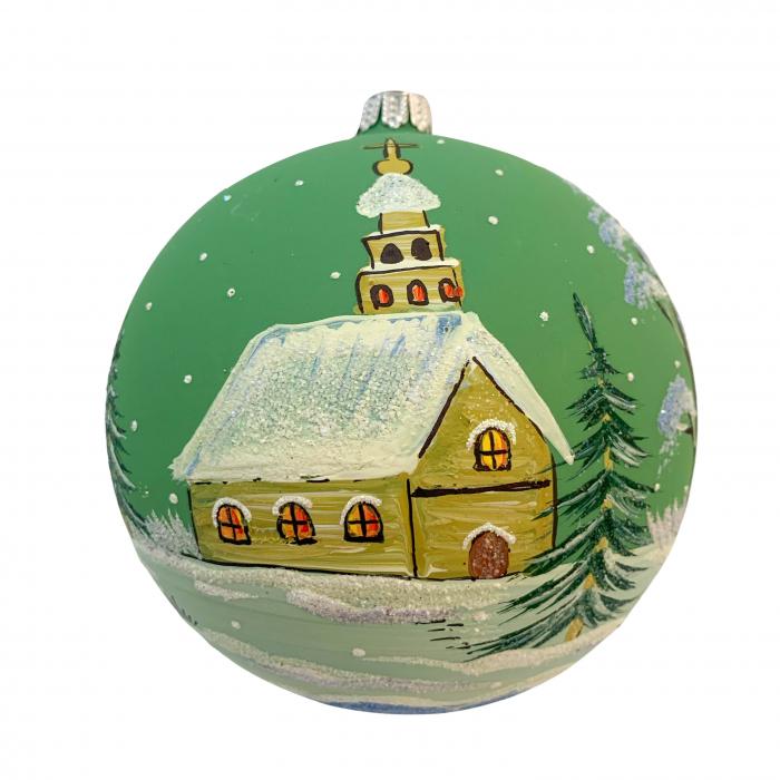 glob-din-sticla-suflata-si-pictata-manual-argcoms-fabrica-lui-mos-craciun-peisaj-de-iarna-multicolor-fond-verde-120-mm-sferic-6595-6597 [0]