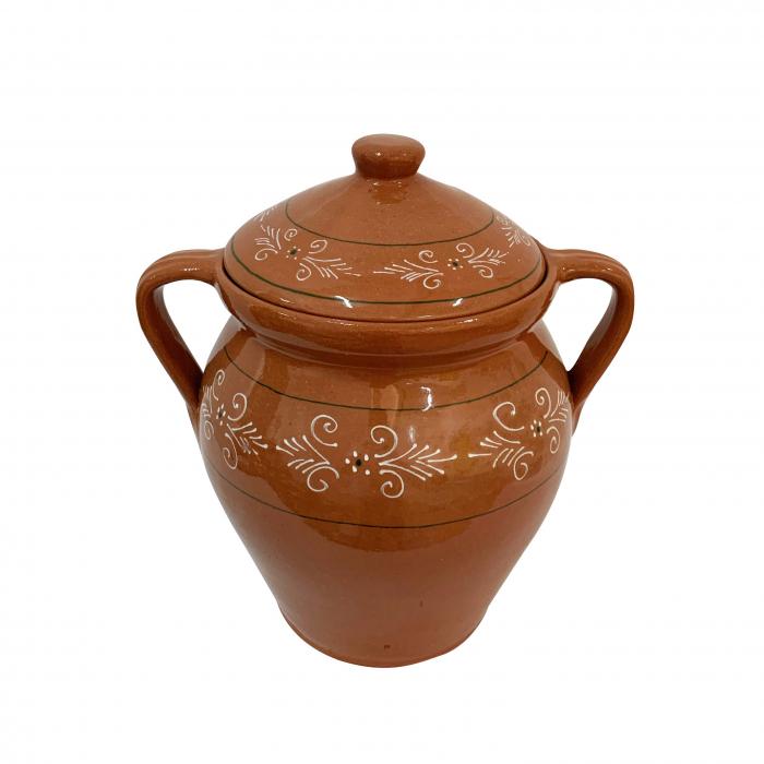 oala-din-ceramica-de-arges-realizata-manual-argcoms-lapte-cu-capac-cu-2-toarte-pictura-traditionala-5869-5870 1