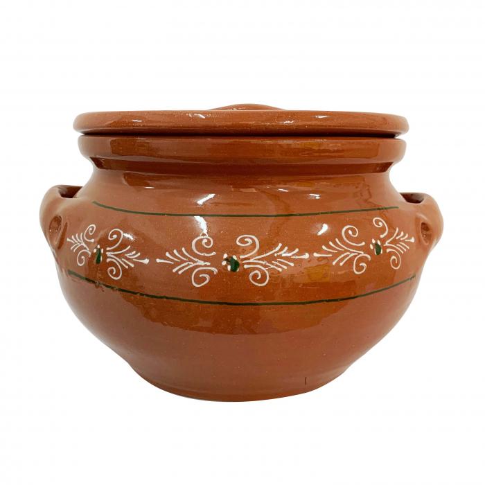 oala-pentru-sarmale-model-1-mare-5849-5850oala-din-ceramica-de-arges-realizata-manual-argcoms-sarmale-cu-capac-pictura-traditionala-mare-5849-5850 0