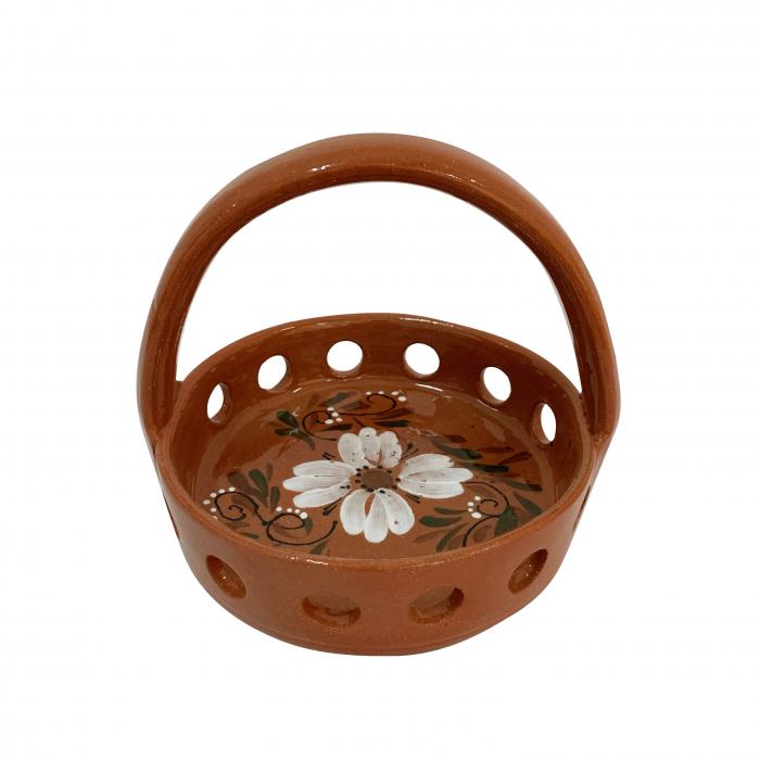oliviera-din-ceramica-de-arges-realizata-manual-argcoms-traforata-4-dozatoare-pictura-florala-5911-5913 2