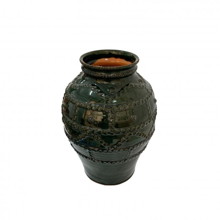 otetar-din-ceramica-de-arges-realizat-manual-argcoms-glazurat-fara-toarte-decor-brau-alveolat-6265-6269 1