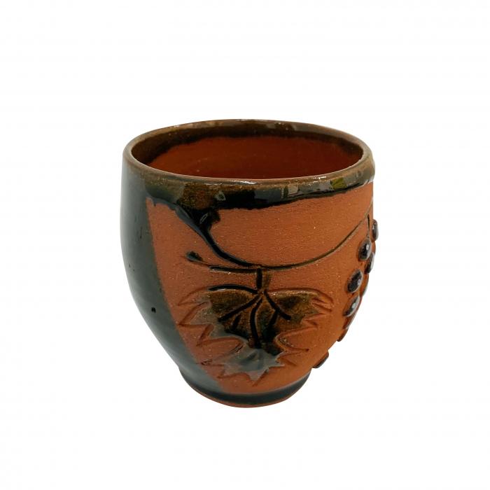 pahar-din-ceramica-de-arges-realizat-manual-argcoms-vin-tema-viticola-6014-6021 1