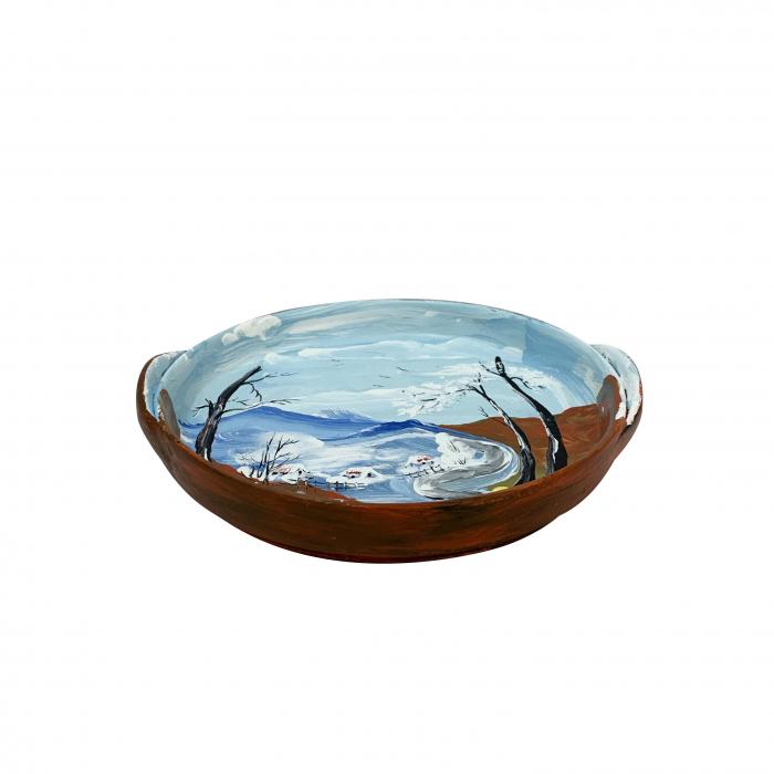 platou-decorativ-din-ceramica-de-arges-realizat-manual-argcoms-peisaj-de-iarna-1-ø22-cm-5795-5802 1