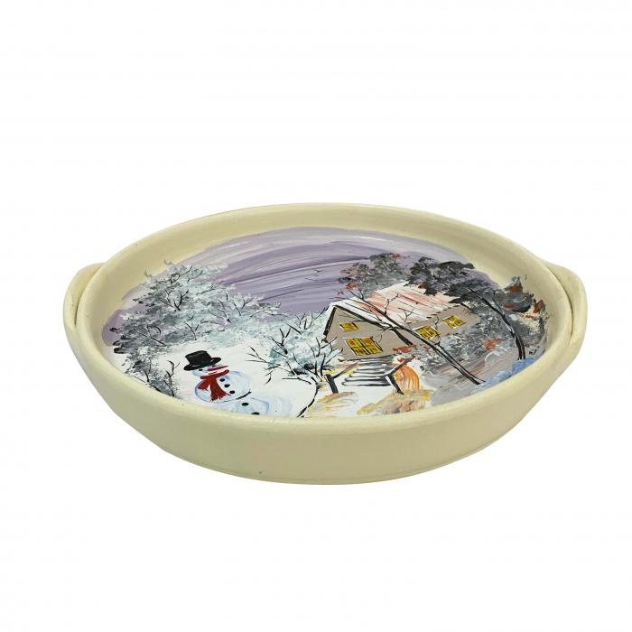 platou-decorativ-din-ceramica-de-arges-realizat-manual-argcoms-peisaj-de-iarna-ø26-cm-5799-5800 1