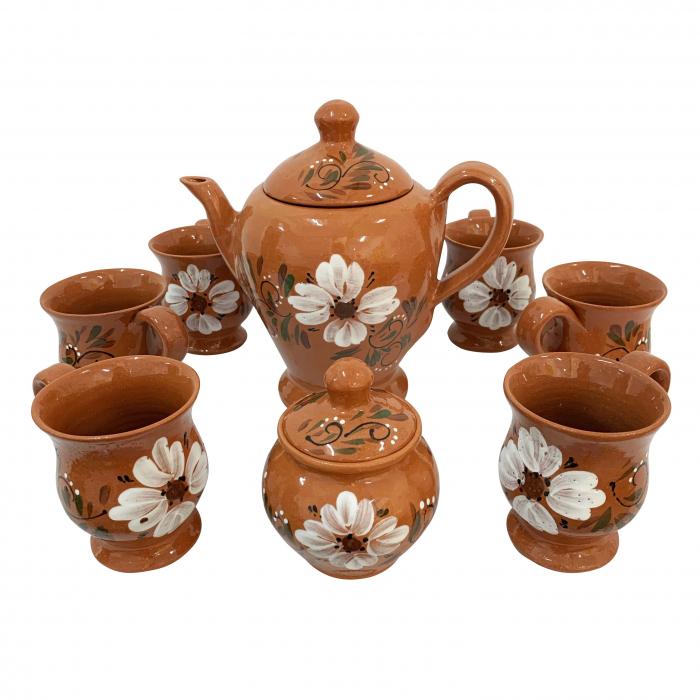 serviciu-cu-6-cani-din-ceramica-de-arges-realizat-manual-argcoms-ceai-pictura-florala-5930 0