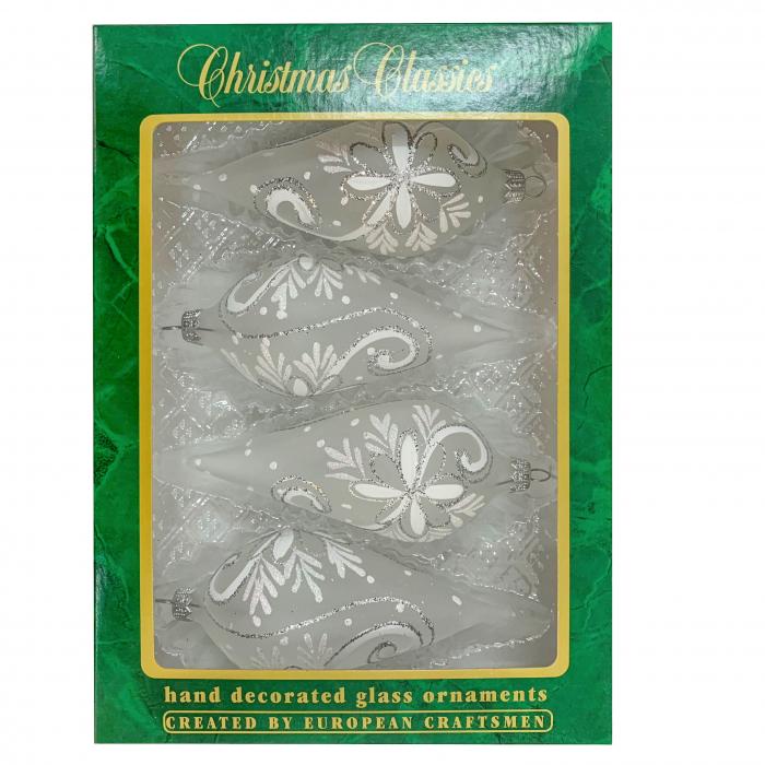 set-4-globuri-clasice-din-sticla-suflate-si-pictate-manual-argcoms-fabrica-lui-mos-craciun-flori-de-gheata-cu-pictura-albe-55-mm-conice-6768 [0]
