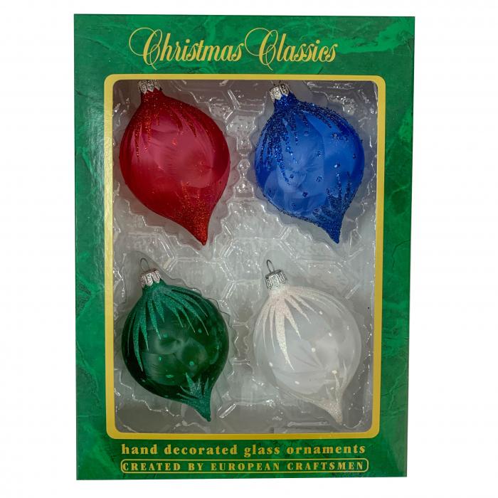 set-4-globuri-clasice-din-sticla-suflate-si-pictate-manual-argcoms-fabrica-lui-mos-craciun-flori-de-gheata-turturi-multicolore-70-mm-ovale-6751 0