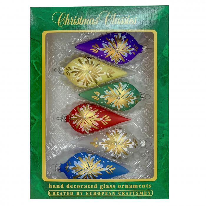 set-6-globuri-clasice-din-sticla-suflate-si-pictate-manual-argcoms-fabrica-lui-mos-craciun-model-1-multicolore-45-mm-conice-6764 [0]