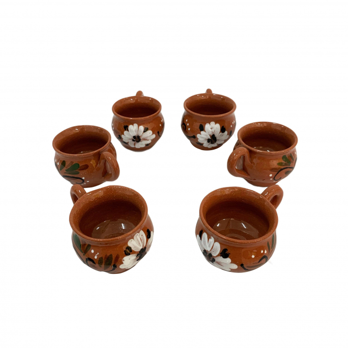 set-de-6-cesti-din-ceramica-de-arges-realizat-manual-argcoms-bauturi-calde-pictura-florala-6071 0