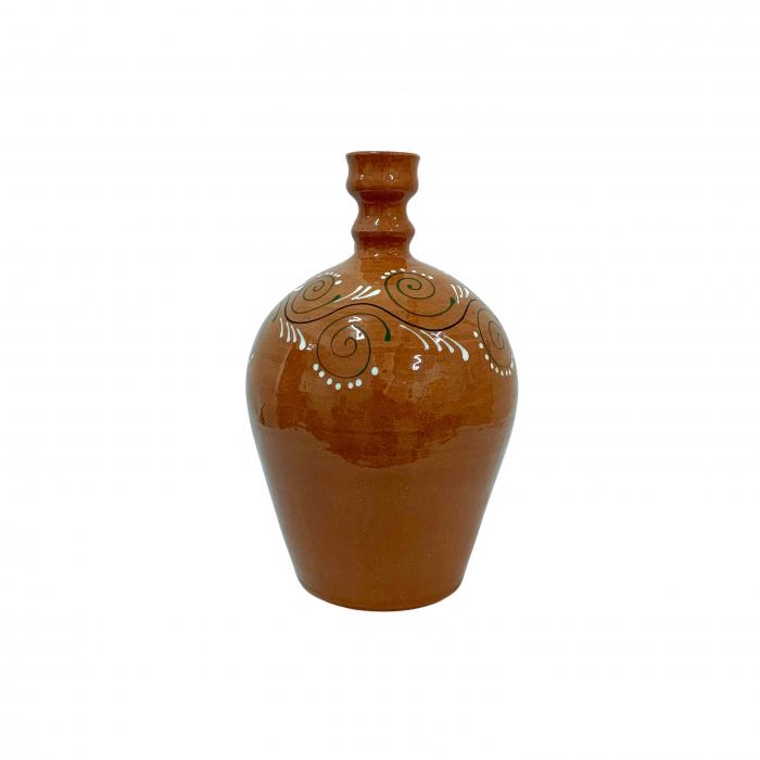 ulcior-din-ceramica-de-arges-realizat-manual-argcoms-ceremonie-apa-vin-pictura-traditionala-2-mediu-6511-6513 2
