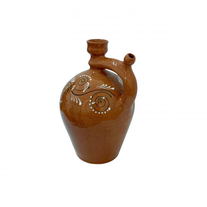 ulcior-din-ceramica-de-arges-realizat-manual-argcoms-ceremonie-apa-vin-pictura-traditionala-2-mediu-6511-6513 1