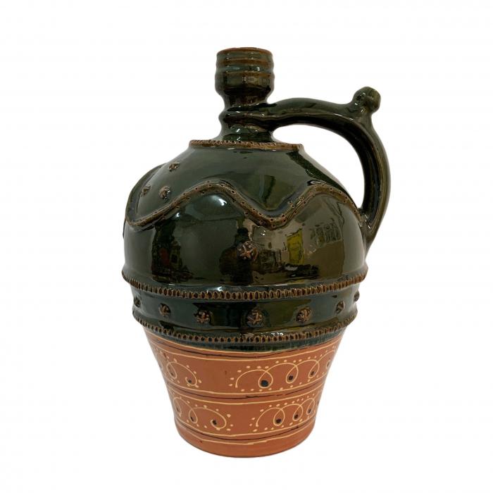ulcior-din-ceramica-de-arges-realizat-manual-argcoms-nunta-ornament-zooform-mare-6094-6098 0