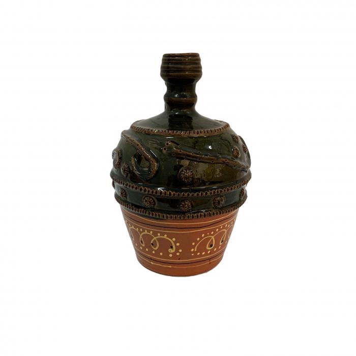 ulcior-din-ceramica-de-arges-realizat-manual-argcoms-nunta-ornament-zooform-mediu-6100-6103 2