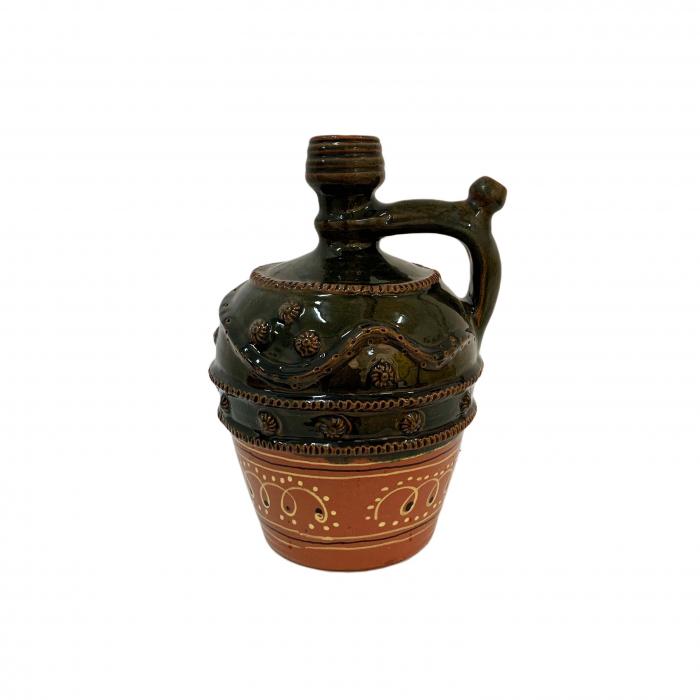 ulcior-din-ceramica-de-arges-realizat-manual-argcoms-nunta-ornament-zooform-mediu-6100-6103 0