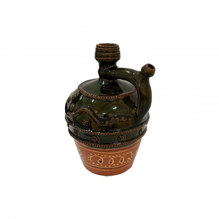 ulcior-din-ceramica-de-arges-realizat-manual-argcoms-nunta-ornament-zooform-mediu-6100-6103 1