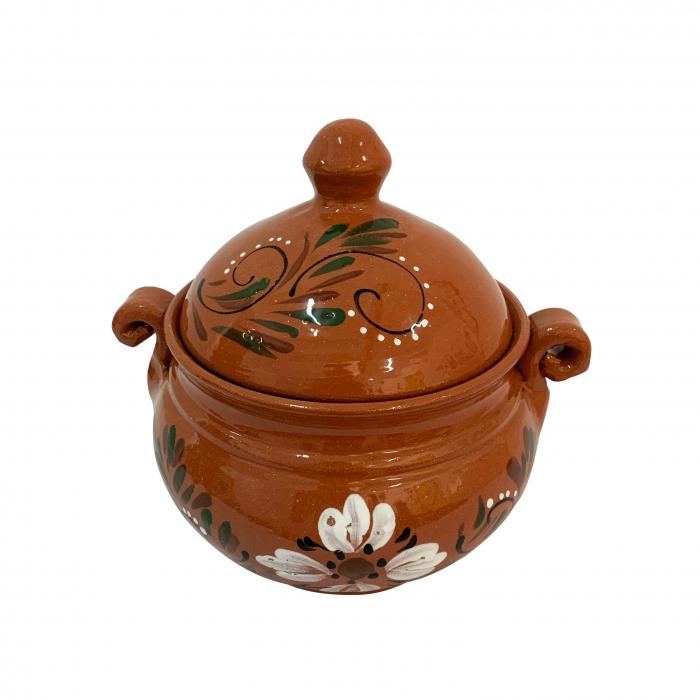 vas-din-ceramica-de-arges-realizat-manual-argcoms-produse-la-grătar-cu-capac-pictura-florala-mic-5861-5862 1
