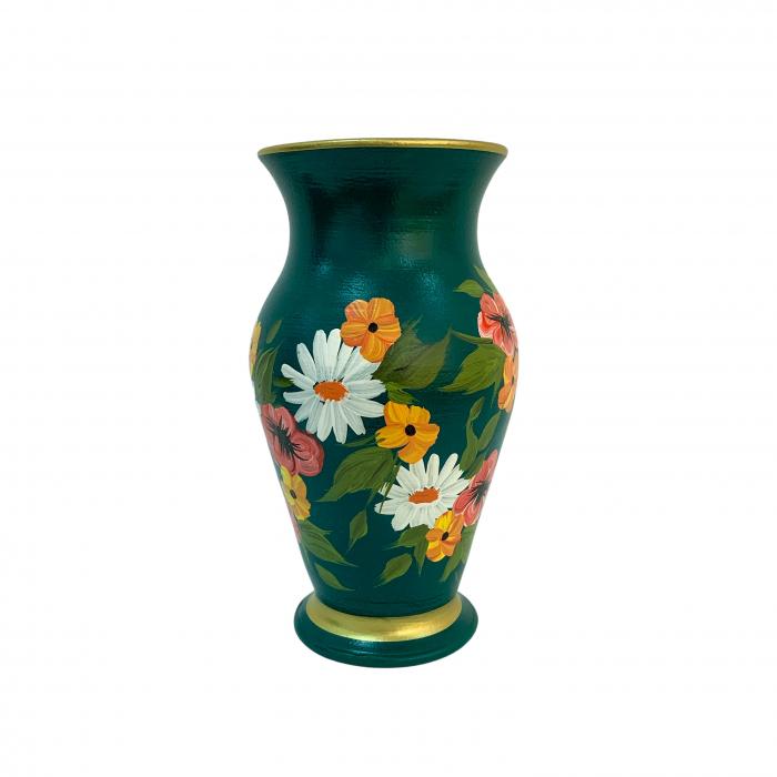 vaza-din-ceramica-de-arges-realizata-manual-argcoms-h25-silueta-clasica-2-1-inel-pictura-florala-6473-6496 1