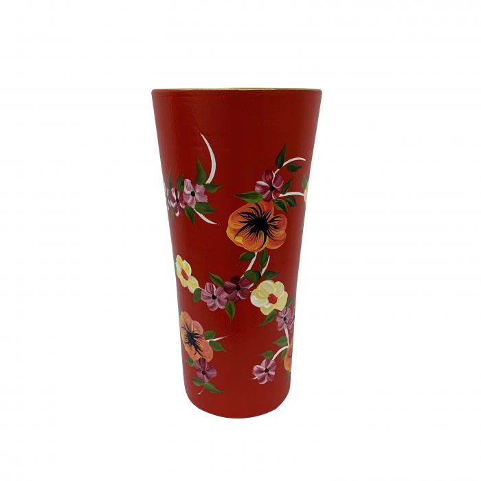 vaza-din-ceramica-de-arges-realizata-manual-argcoms-h30-traforat-pictura-florala-5761-5771 0
