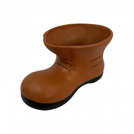 Bocanc din ceramica de Arges realizat manual, Argcoms, Ghiveci2