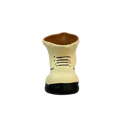 Bocanc din ceramica de Arges realizat manual, Argcoms, Suport1