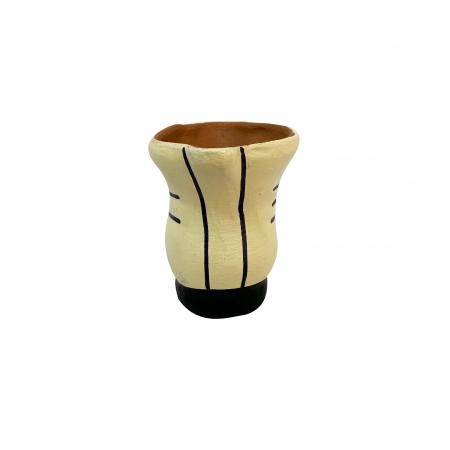 Bocanc din ceramica de Arges realizat manual, Argcoms, Suport3