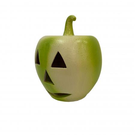 Dovleac din ceramica de Arges realizat manual, Argcoms, Halloween1