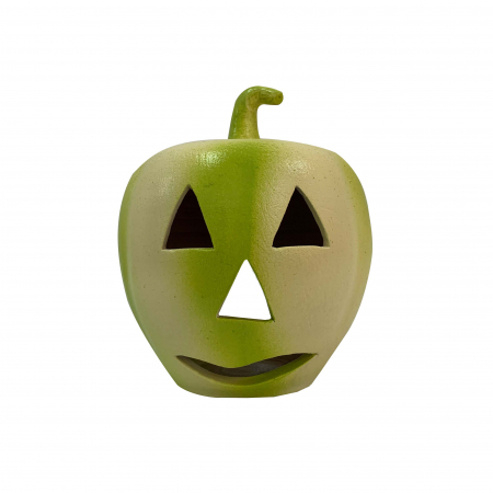 Dovleac din ceramica de Arges realizat manual, Argcoms, Halloween0